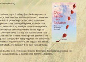 Reacties op het boek Over liefde en loslaten door Jan Geurtz