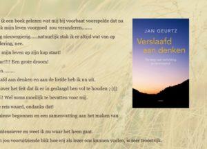 Reacties op het boek Verslaafd aan denken door Jan Geurtz