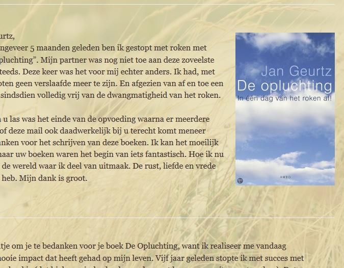 Reacties van lezers op het boek De opluchting van Jan Geurtz